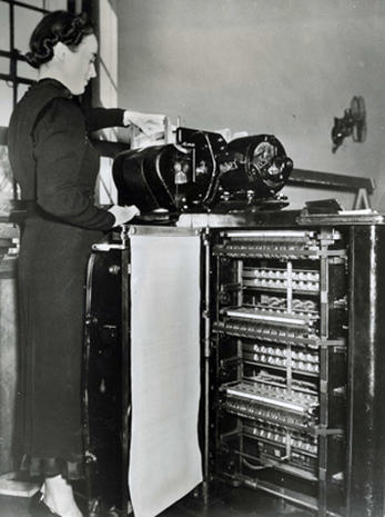 Census taking in the 1940s