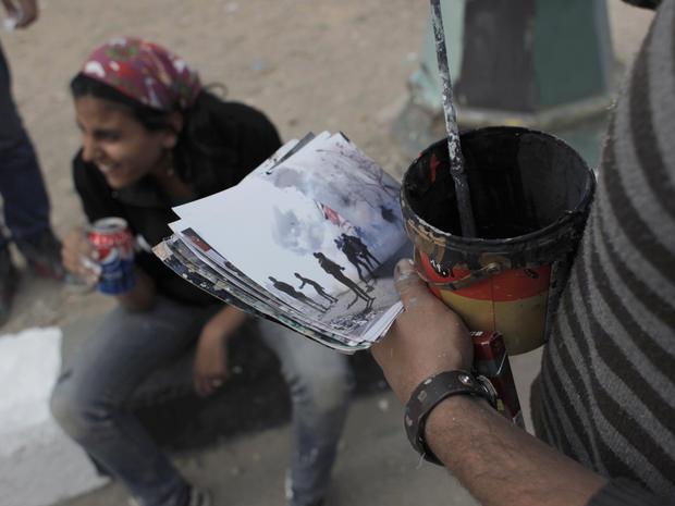 Cairo's graffiti revolution