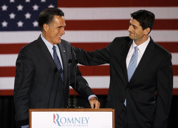 Romney's VP choice: Rep. Paul Ryan, R-Wis.