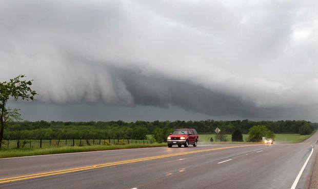 Texas tornadoes