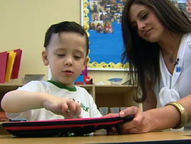Apps helping autistic children communicate