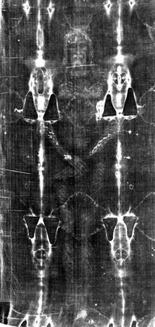 Young Jesus and Shroud of Turin