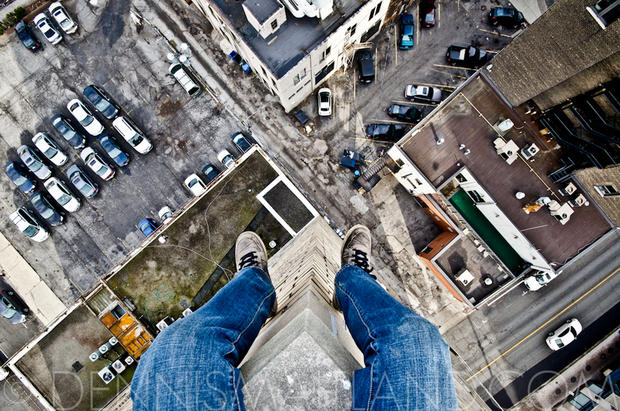 "Fearless photog lives ""Life on the Edge"""