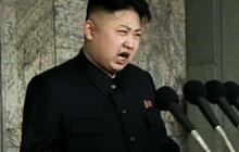 Kim Jong Un gives rare speech