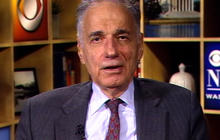 Ralph Nader talks presidential candidates and corporatism