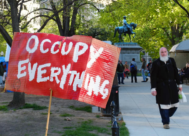 Occupy protests: Month 7