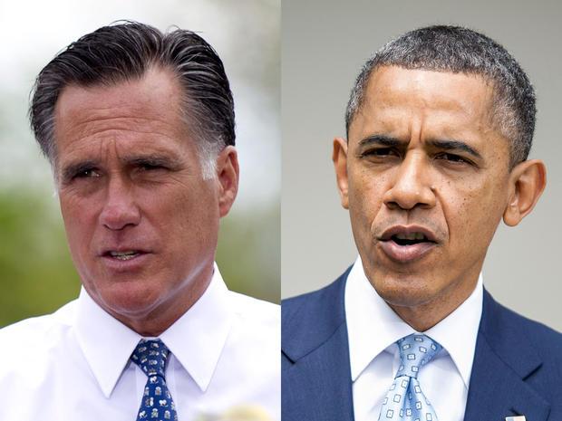 Mitt Romney , U.S. President Barack Obama