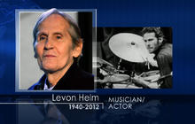 """The Band"" singer-drummer Levon Helm dead at 71"