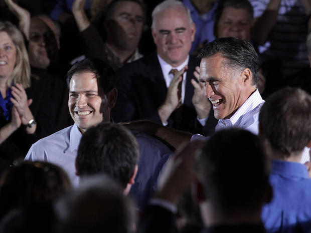 Mitt Romney, Marco Rubio