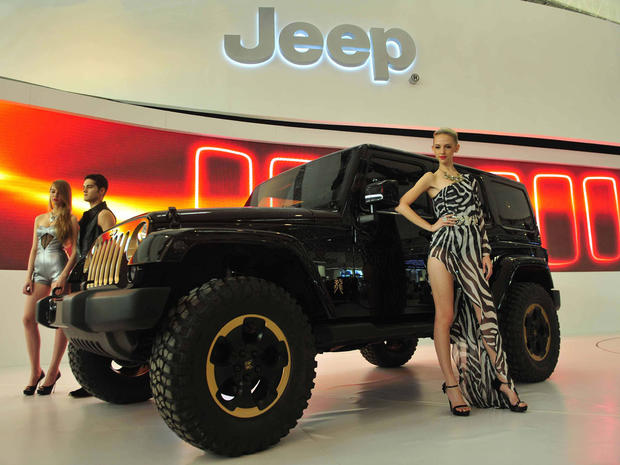 Hot rides at the Beijing Auto Show