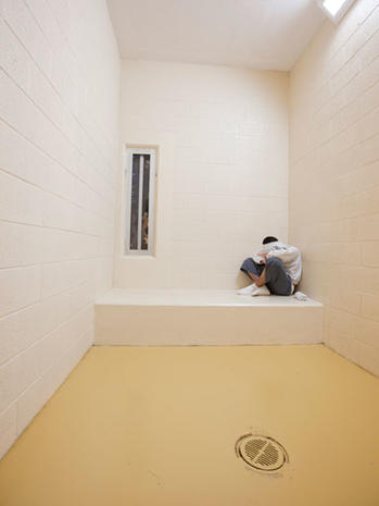 """""""Juvenile in Justice"""" photo project captures kids behind bars"""