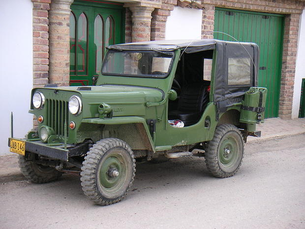 Jeep through the years