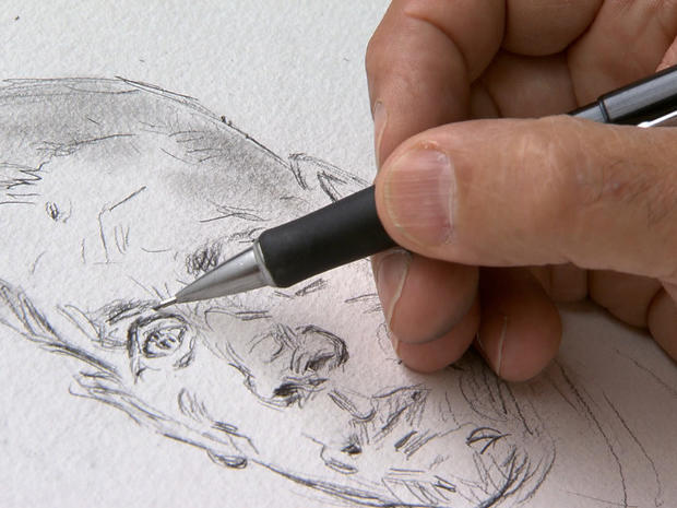 The sketches of a war artist