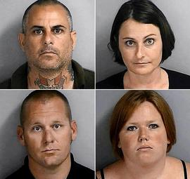Ten arrested on hate crime, conspiracy charges