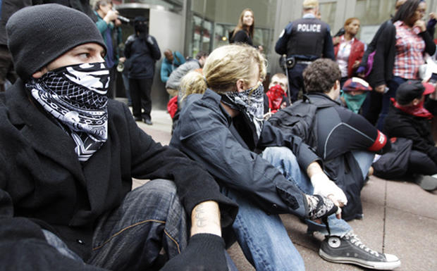Occupy protests: Month 8