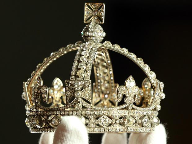 "Jewels from the ""Diamonds: A Jubilee Celebration"" exhibit"