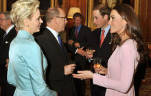 Royals celebrate Queen Elizabeth II's Diamond Jubilee