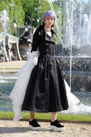 Chanel's catwalk at Versailles