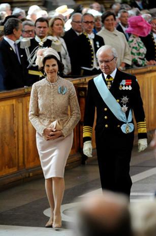 Sweden's Princess Estelle baptized
