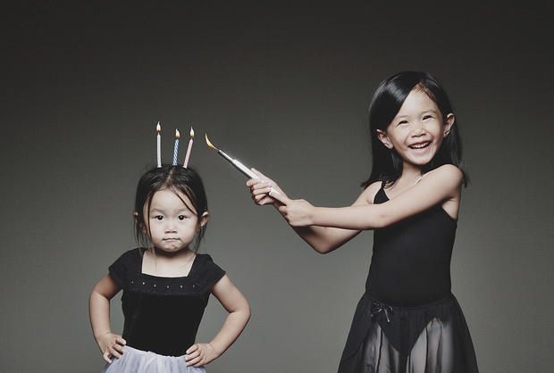 Dad makes editing magic in kids' photos