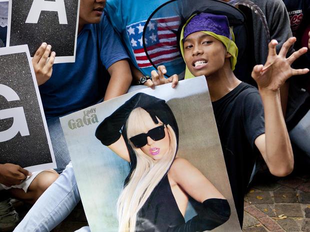 Lady Gaga's Asian tour