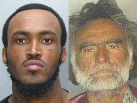 Ronald Poppo, victim of 'Face-chewing' naked man Rudy Eugene, is a 65-year-old homeless man