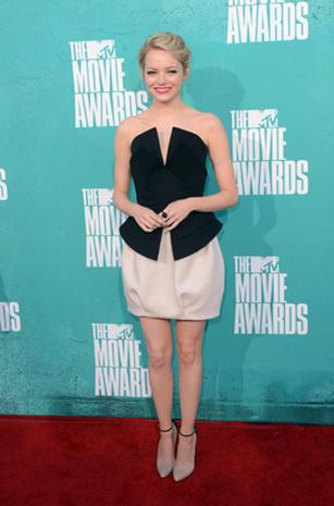 MTV Movie Awards 2012 red carpet