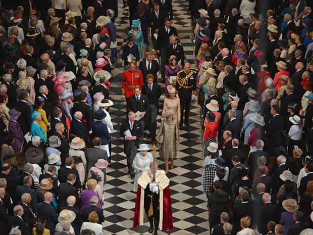 Diamond Jubilee: Service of thanksgiving