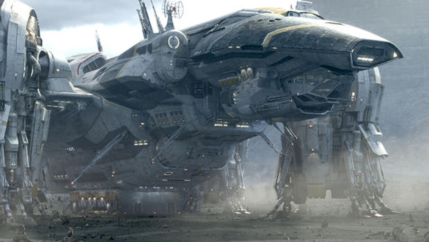 広そうな宇宙船