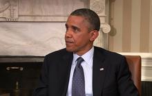 "Obama clarifies private sector ""fine"" remark"