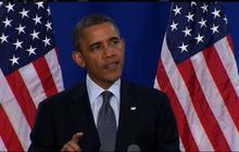 "Obama admits ""fine"" gaffe"