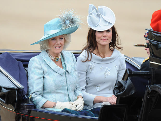 Royals attend Trooping The Colour ceremony