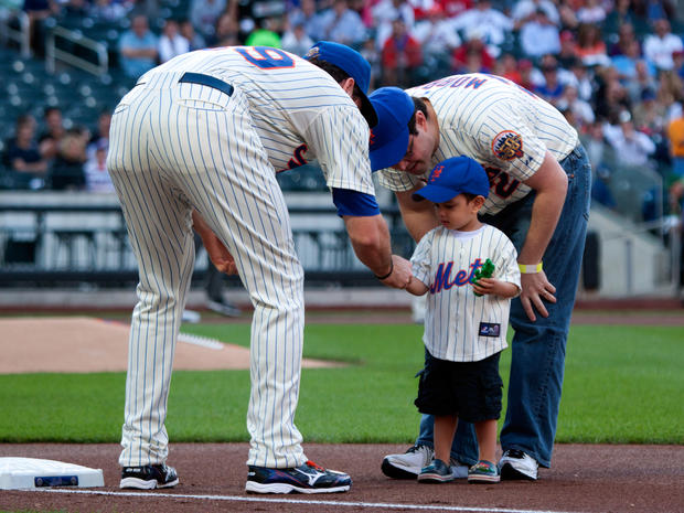 Honorary Mets game photographer