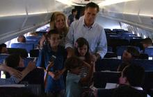 "Romney grandson asks ""have you beat Obama yet?"""
