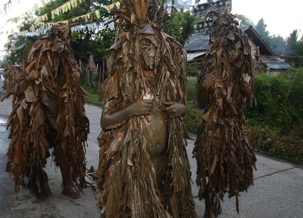 Philippines mud festival