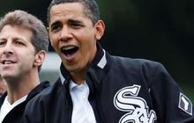 Obama strikes out in Boston with Youkilis joke