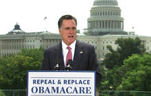 "Romney: ""Obamacare"" is bad policy, bad law"