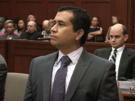 George Zimmerman attends a court bond hearing in Sanford, Fla., June 29, 2012