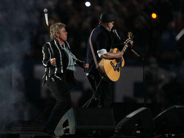 Entertainers at the Olympics