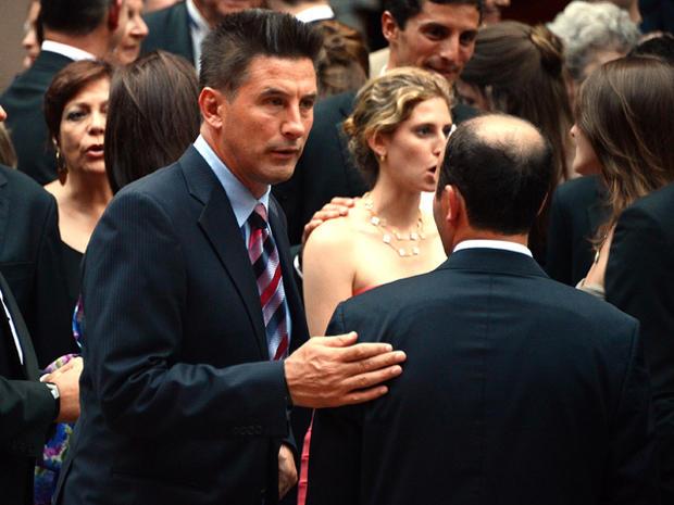 Alec Baldwin and Hilaria Thomas' wedding