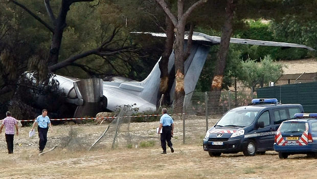 Private Jet Crash Kills 3 Americans In France  CBS News