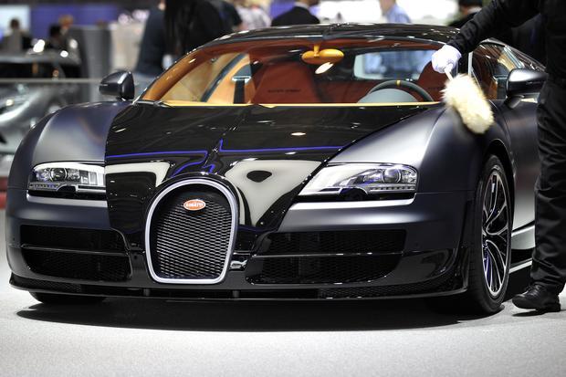 1 Bugatti Veyron Super Sport  Top 10 fastest cars in the world
