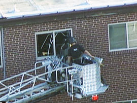 Will authorities blow up booby-trapped apartment?