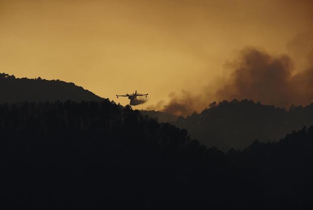 Raging northeast Spain wildfires