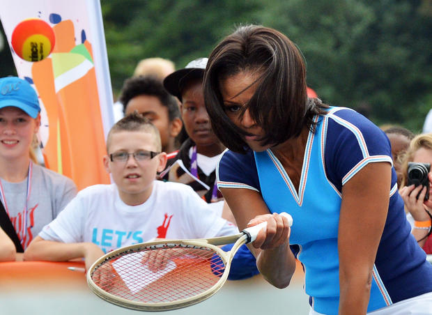 Michelle Obama at the Olympics