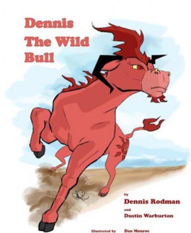 丹尼斯罗德曼的新儿童书的封面。