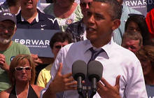 "Obama: Romney wants ""people like him"" to get tax cuts"