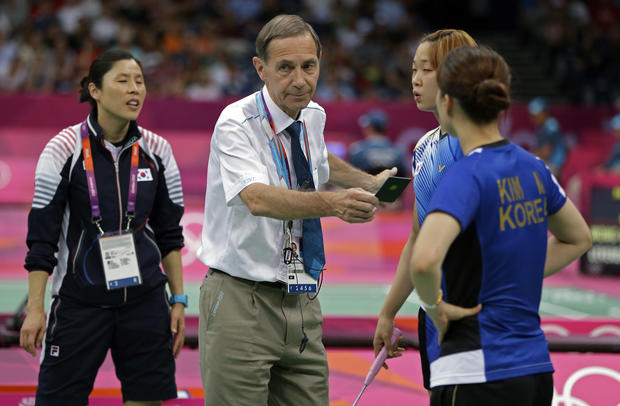 Eight badminton players disqualified from Olympics