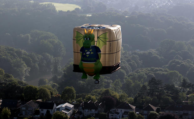 Europe's largest hot air balloon festival