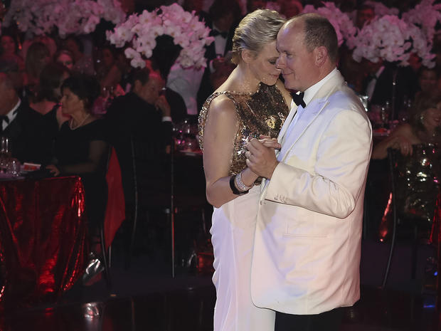 Monaco's Red Cross Ball 2012